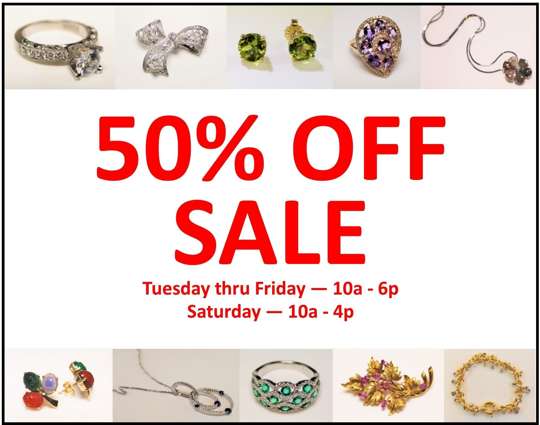 You Don't Want To Miss This Sale!